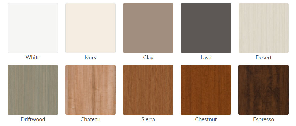closet colors and features for every room